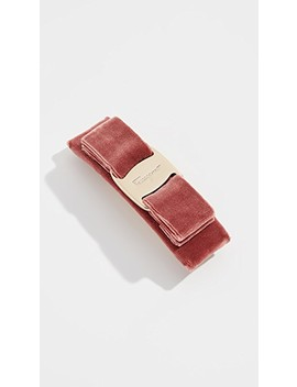 Velvet Barrette by Salvatore Ferragamo