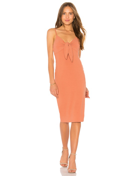 Andalusia Tie Front Dress by Minkpink