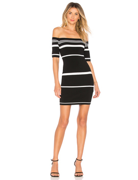 Kayden Stripe Knit Dress by By The Way.