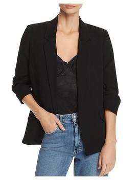 Ruched Sleeve Blazer by Bardot