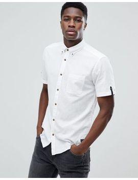Esprit Short Sleeve Cotton Linen Shirt by Esprit
