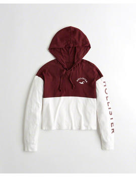 Hooded Boyfriend Graphic Tee by Hollister