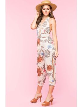 Tropical Harem Jumpsuit by A'gaci