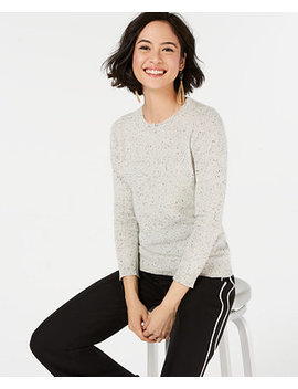 Pure Cashmere Crewneck Sweater, Created For Macy's by Charter Club
