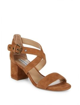 Roama Suede Ankle Strap Sandals by Schutz