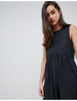 Asos Design Minimal Jumpsuit With Ruching Detail by Asos Design