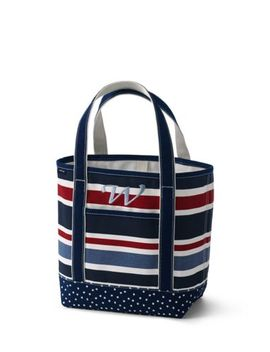 All Over Print Medium Open Top Tote Bag by Lands' End