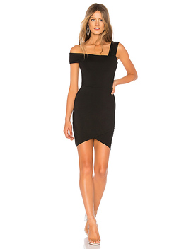 Fallon Asymmetrical Mini Dress by By The Way.