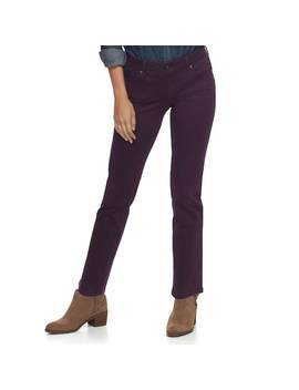 Petite Sonoma Goods For Life™ Twill Straight Leg Pants by Kohl's