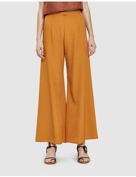 Song Tu Wide Leg Silk Pant by Kaarem