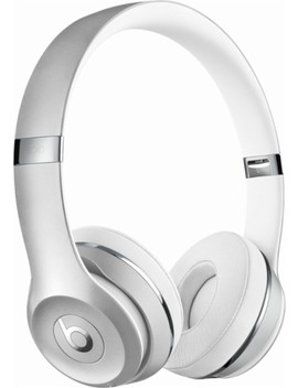 Geek Squad Certified Refurbished Beats Solo3 Wireless Headphones   Silver by Beats By Dr. Dre