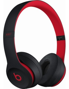 Beats Solo³ Wireless Headphones   The Beats Decade Collection   Defiant Black Red by Beats By Dr. Dre