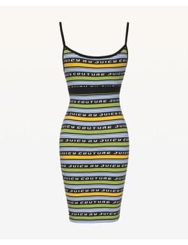Jxjc Juicy Racer Stripe Slip Dress by Juicy Couture
