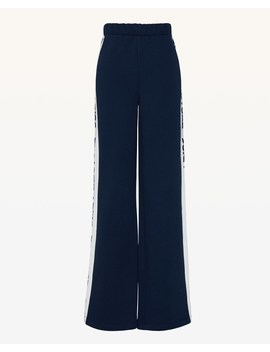 Juicy Border French Terry Wide Leg Pant by Juicy Couture
