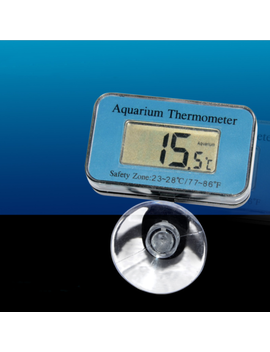 Mini Digital Waterproof Fish Tank Aquarium Lcd Thermometer Temperature Detection by Unbranded