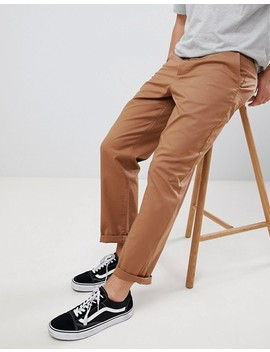 Asos Design Skater Chinos In Camel by Asos Design
