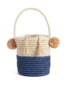 Straw Bucket Bag by Nordstrom