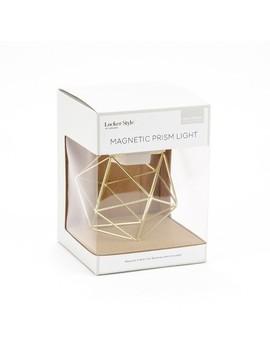Prism Locker Led Light Gold   Locker Style by U Brands