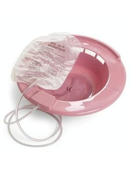 Healthstar Sitz Bath, Over The Toilet Perineal Soaking Bath by Healthstar