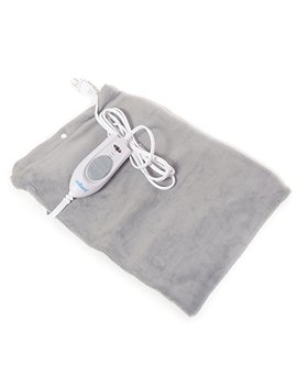 Milliard Electric Therapy Heating Pad For Fast Pain Relief   Gray   15in X 12in by Milliard