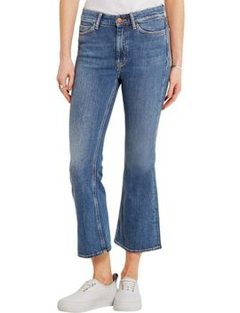 High Rise Kick Flare Jeans by M.I.H Jeans