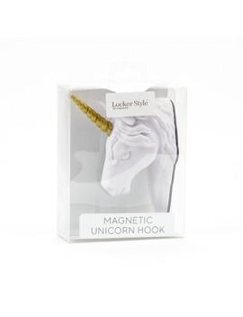 Magnetic Unicorn Hook   Locker Style by U Brands