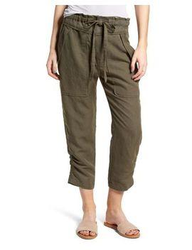 Women's Green Stellina High Waist Pants by Mcguire
