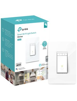 Kasa Smart Wi Fi Light Switch, Dimmer By Tp Link   Dim Lighting From Anywhere, Easy In Wall Installation (Single Pole Only), Works With Alexa And Google Assistant (Hs220) by Tp Link