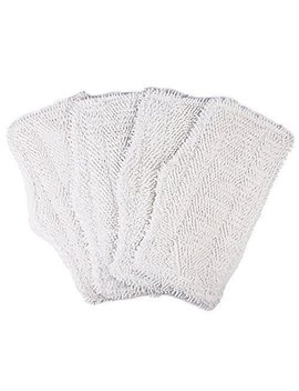 4 Pack Washable Cleaning Pads For Shark Steam & Spray Mop Sk410, Sk460, Sk115, Sk140, Sk141, Sk435 Co, S3101, S3102, S3250, S3251 by Ximoon