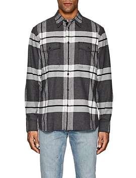 Jack Plaid Cotton Flannel Overshirt by Rag & Bone