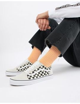 Vans Old Skool Sneakers In White Va38 G127 K by Vans
