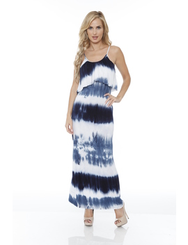 White Mark Kalea Tie Dye Maxi Dress by Kmart