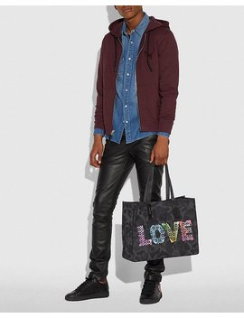 Love By Jason Naylor Tote 42 by Coach