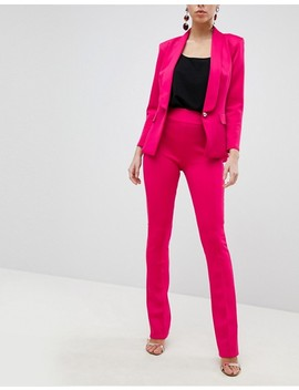 Club L Tailored Pants In Scuba by Club L