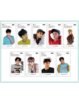 Twitter Exo Transparante Photocards //Exo Transparante Photocards / / Nerdywolves by Etsy