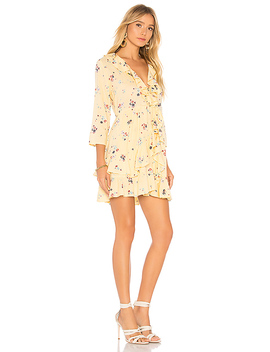 Desert Dandelion Grace Mini Dress by Auguste