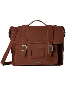 """15"""" Leather Satchel by Dr. Martens"""