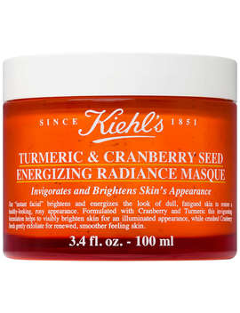 Kiehl's Turmeric & Cranberry Seed Energising Radiance Masque, 100ml by Kiehl's