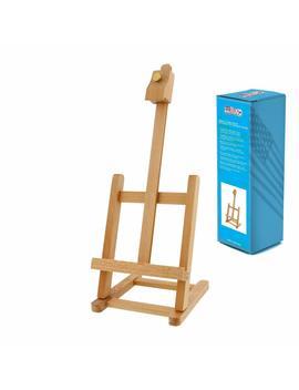 Us Art Supply 16 Inch High Mini Wood Studio Adjustable Artist Easel by Us Art Supply