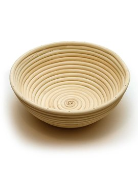 Round Proofing Basket Banneton Brotform 8.5 Inch by Happy Sales