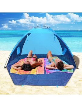 Sunrise Outdoor Ltd Pop Up Potable Beach Shelter Camping Sun Shade Outdoor Canopy 4 Person Tent by Sunrise Outdoor Ltd