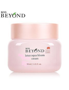 Eco Beyond Lotus Aqua Bloom Cream   Hyaluronic Acid Moisturizer To Help With Skin Elasticity And Facial Firming   Purifies, Smooths, Soothes, And Exfoliates... by Eco Beyond