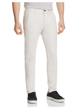 Fit 2 Slim Fit Chino Pants In Stone   100 Percents Exclusive by Rag & Bone