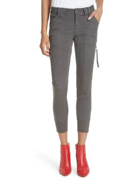 Malbi Slim Stretch Cotton Blend Cargo Pants by Joie
