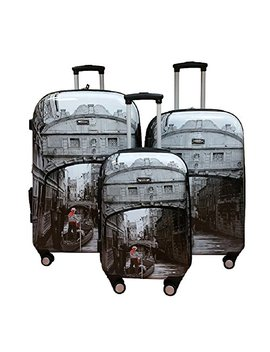 Kemyer, 888 Hard Shell Wheeled Spinner 3 Pc Set 29 Inch/25 Inch/20 Inch Luggage Set by Kemyer