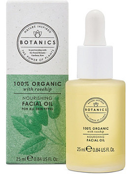 100% Organic Nourishing Facial Oil by Botanics