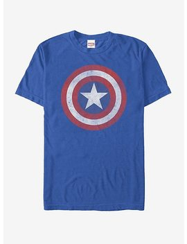 Marvel Captain America Classic Shield T Shirt by Hot Topic