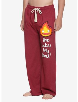 Studio Ghibli Howl's Moving Castle Guys Pajama Pants by Hot Topic
