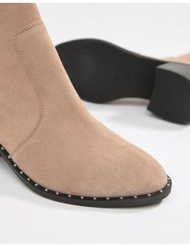 Asos Design Realm Suede Mid Ankle Boots by Asos Design