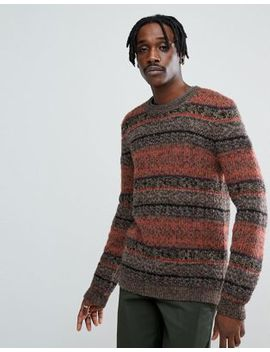 Asos Textured Jumper In Retro Design by Asos